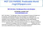 mgt 230 papers predictable world mgt230papers com 7