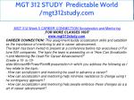 mgt 312 study predictable world mgt312study com 11