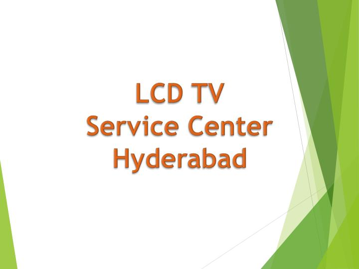 lcd tv service center hyderabad n.