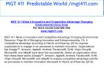 mgt 411 predictable world mgt411 com 7