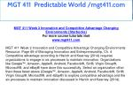 mgt 411 predictable world mgt411 com 8