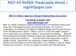 mgt 411 paper predictable world mgt411paper com 12