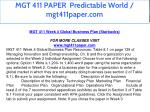 mgt 411 paper predictable world mgt411paper com 18
