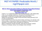 mgt 411 paper predictable world mgt411paper com 25