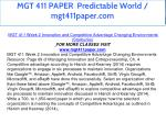 mgt 411 paper predictable world mgt411paper com 8