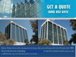 madison window services offers cleaning service
