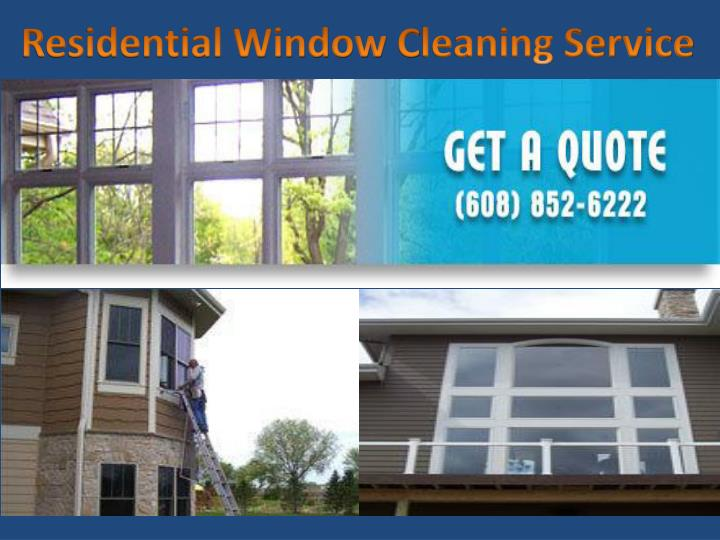 residential window c leaning service n.