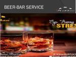 beer bar service