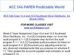 acc 546 paper predictable world 11