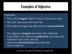 examples of adjective
