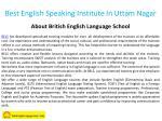 best english speaking institute in uttam nagar 1