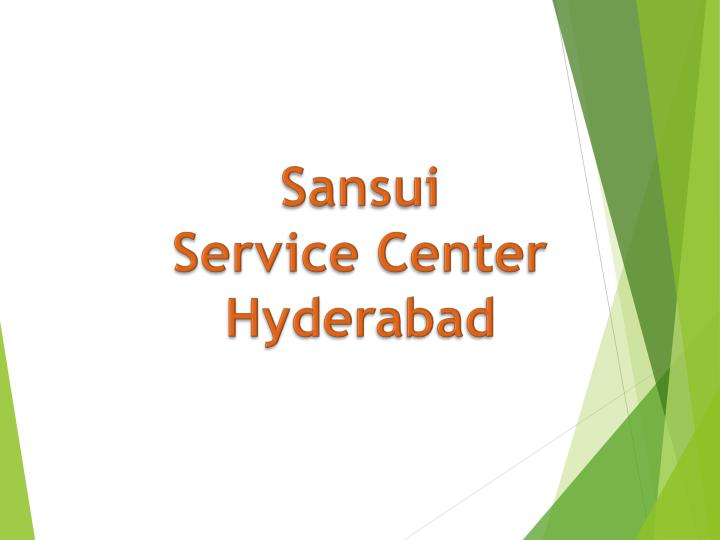 sansui service center hyderabad n.