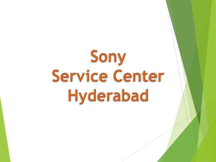 sony service center hyderabad n.