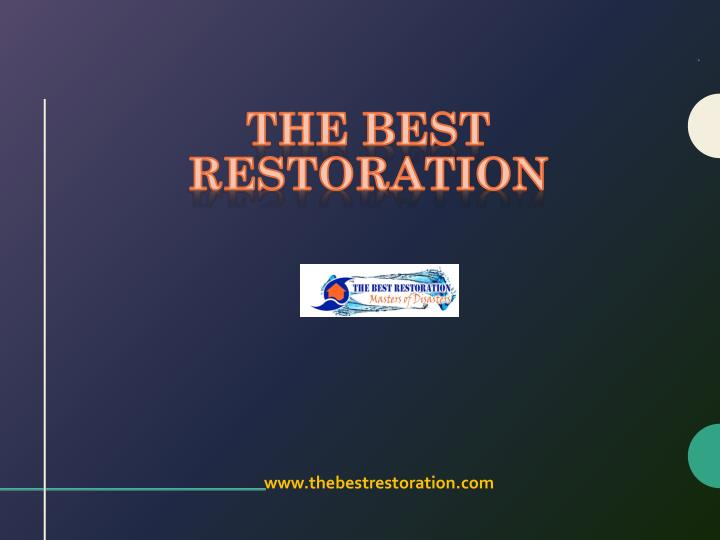 the best restoration n.