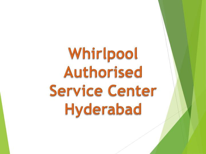 whirlpool authorised service center hyderabad n.