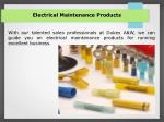 electrical maintenance products