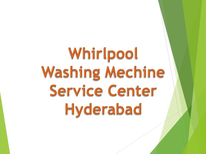 whirlpool washing mechine service center hyderabad n.