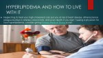 hyperlipidemia and how to live with it