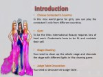 in this miss world game for girls you can play