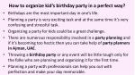 how to organize kid s birthday party in a perfect way 2