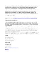 the market report for hydrocolloids of market