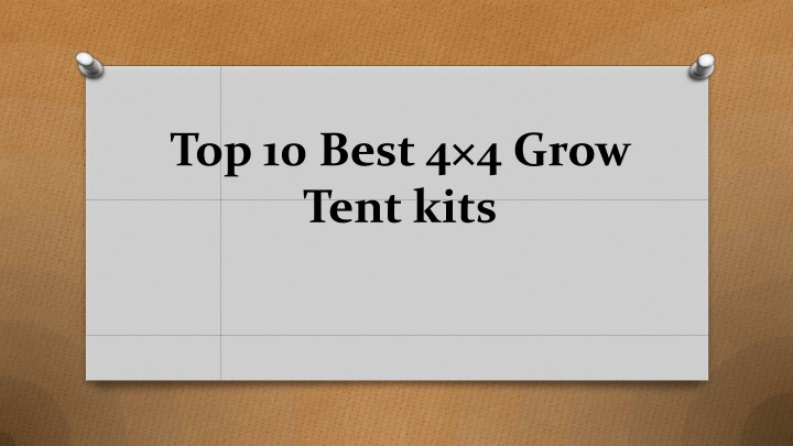 top 10 best 4 4 grow tent kits n.