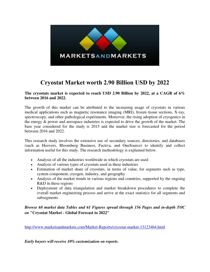 cryostat market worth 2 90 billion usd by 2022 n.