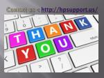 contact us http hpsupport us