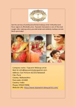 get the services of professional bridal makeup