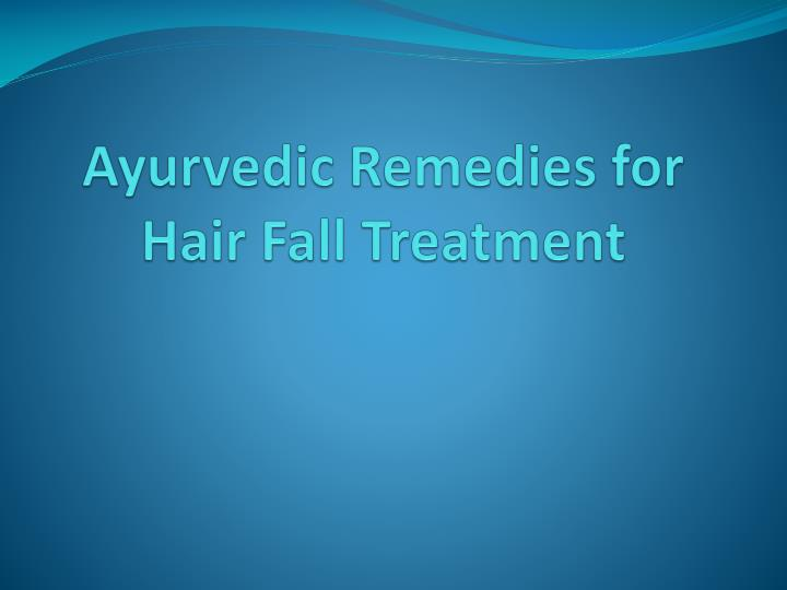 ayurvedic remedies for hair fall treatment n.