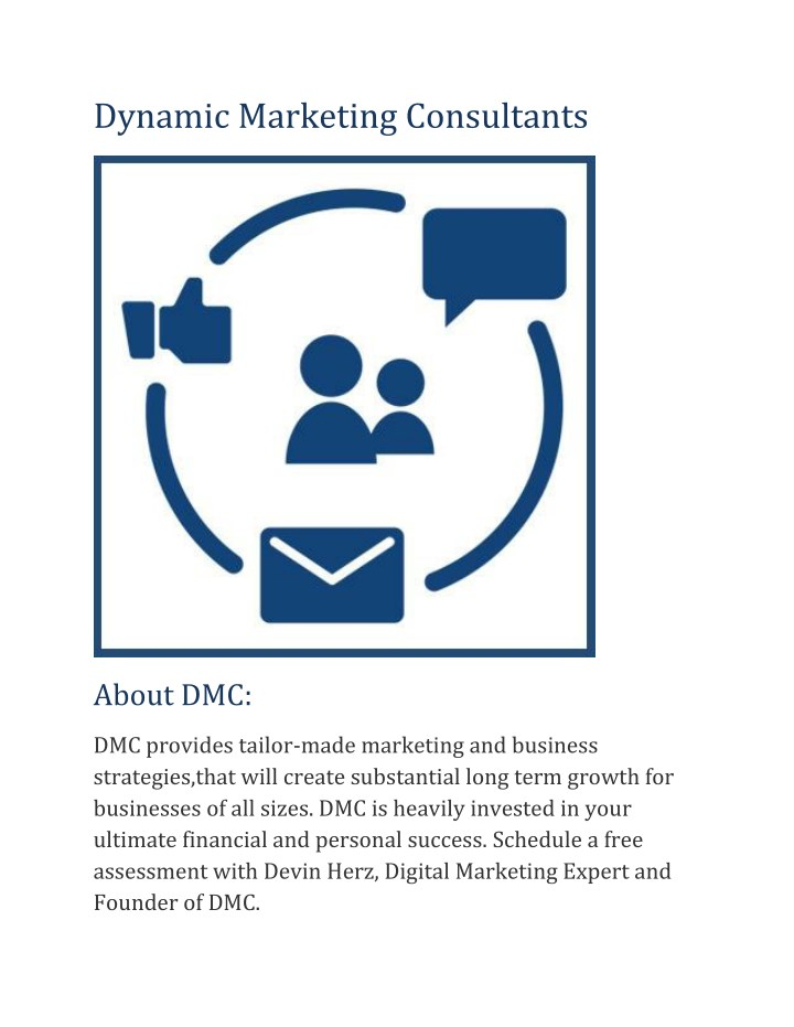 dynamic marketing consultants n.