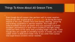 things to know about all season tires 2