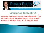 homes for sale holmby hills ca