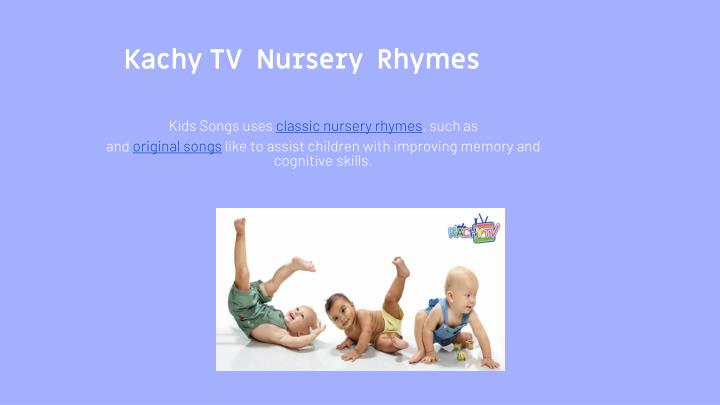kachy tv nursery rhymes n.