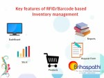key features of rfid barcode based inventory