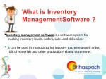 what is inventory managementsoftware
