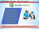 advantages of sweden best performence