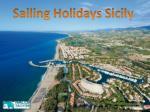 sailing holidays sicily
