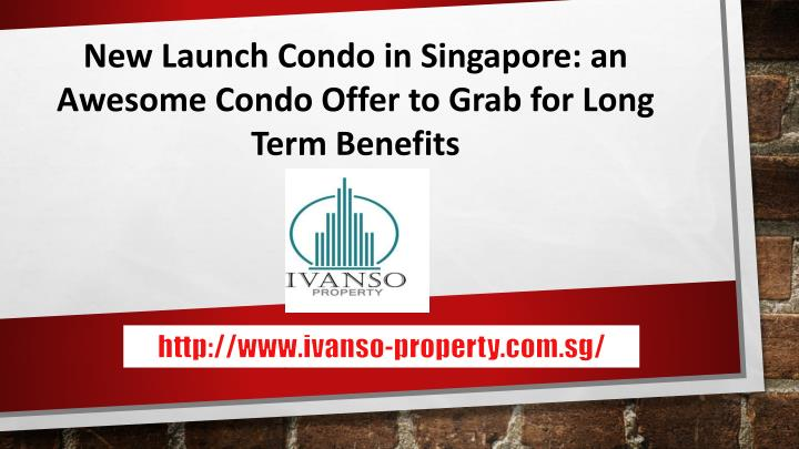 new launch condo in singapore an awesome condo n.