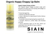 organic happy chappy lip balm