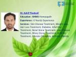 dr ashif thoduvil education bhms homeopath