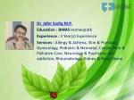 dr jafer sadiq m p education bhms homeopath