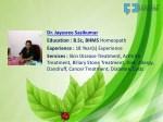 dr jayasree sasikumar education b sc bhms