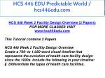 hcs 446 edu predictable world hcs446edu com 3