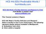 hcs 446 edu predictable world hcs446edu com 4