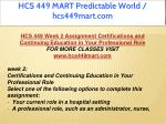 hcs 449 mart predictable world hcs449mart com 6