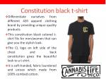 constitution black t shirt
