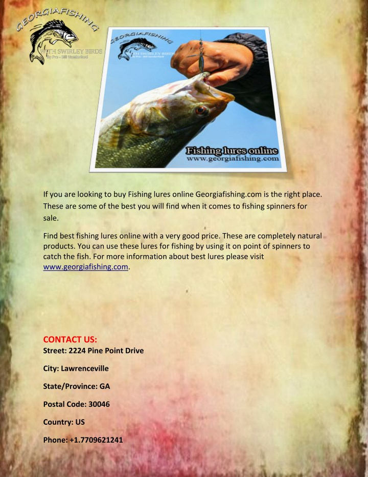 if you are looking to buy fishing lures online n.