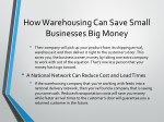 how warehousing can save small businesses 1