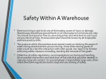 safety within a warehouse 1